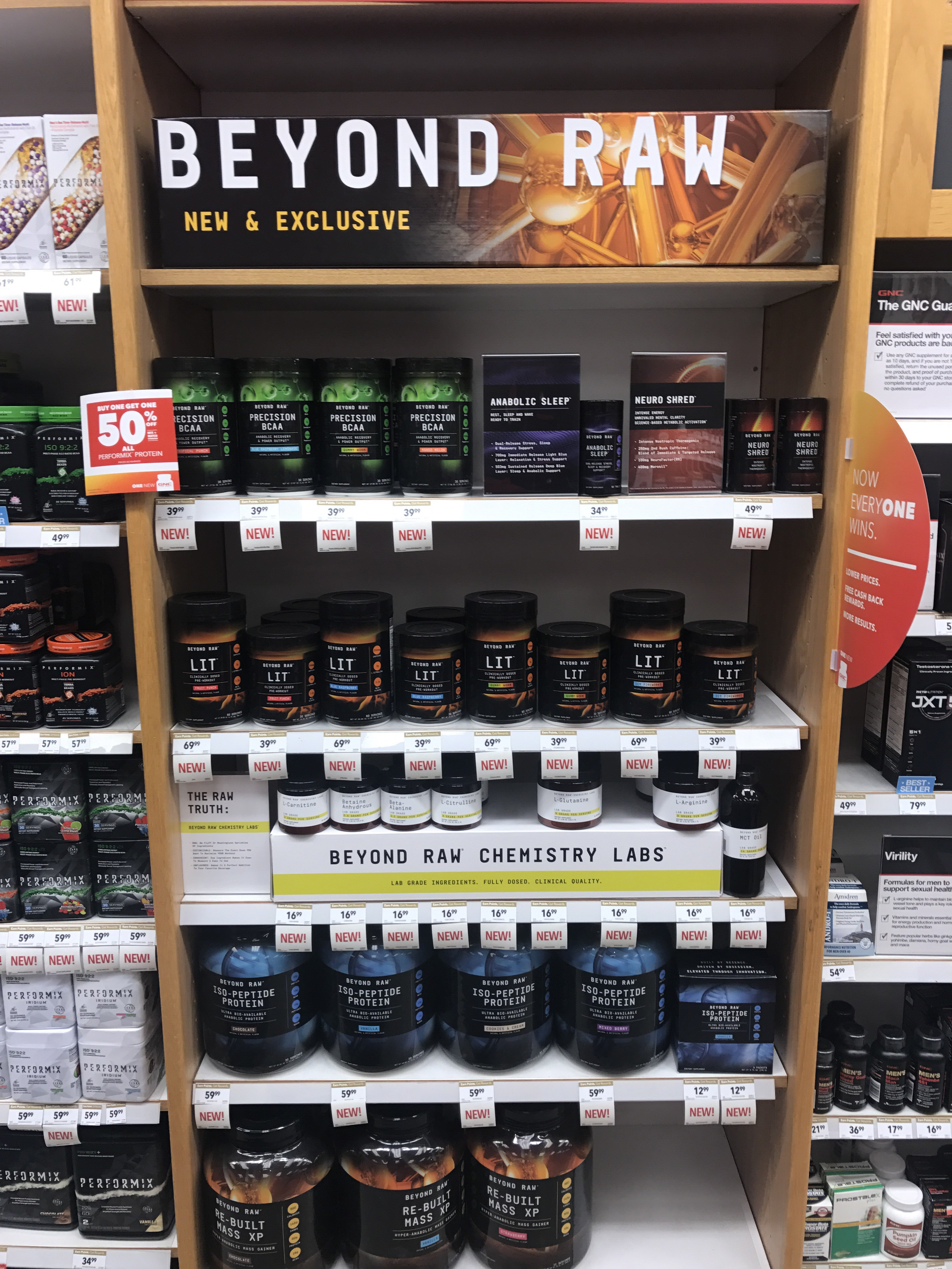 c0b681653d850 Two New GNC Beyond Raw Line – Body Building Reviews